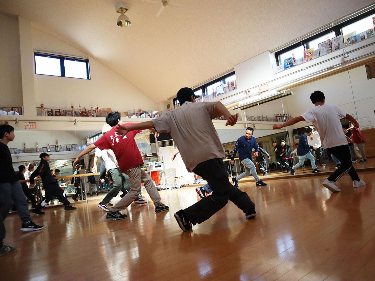 B BOY TAISUKE ワークショップ 2