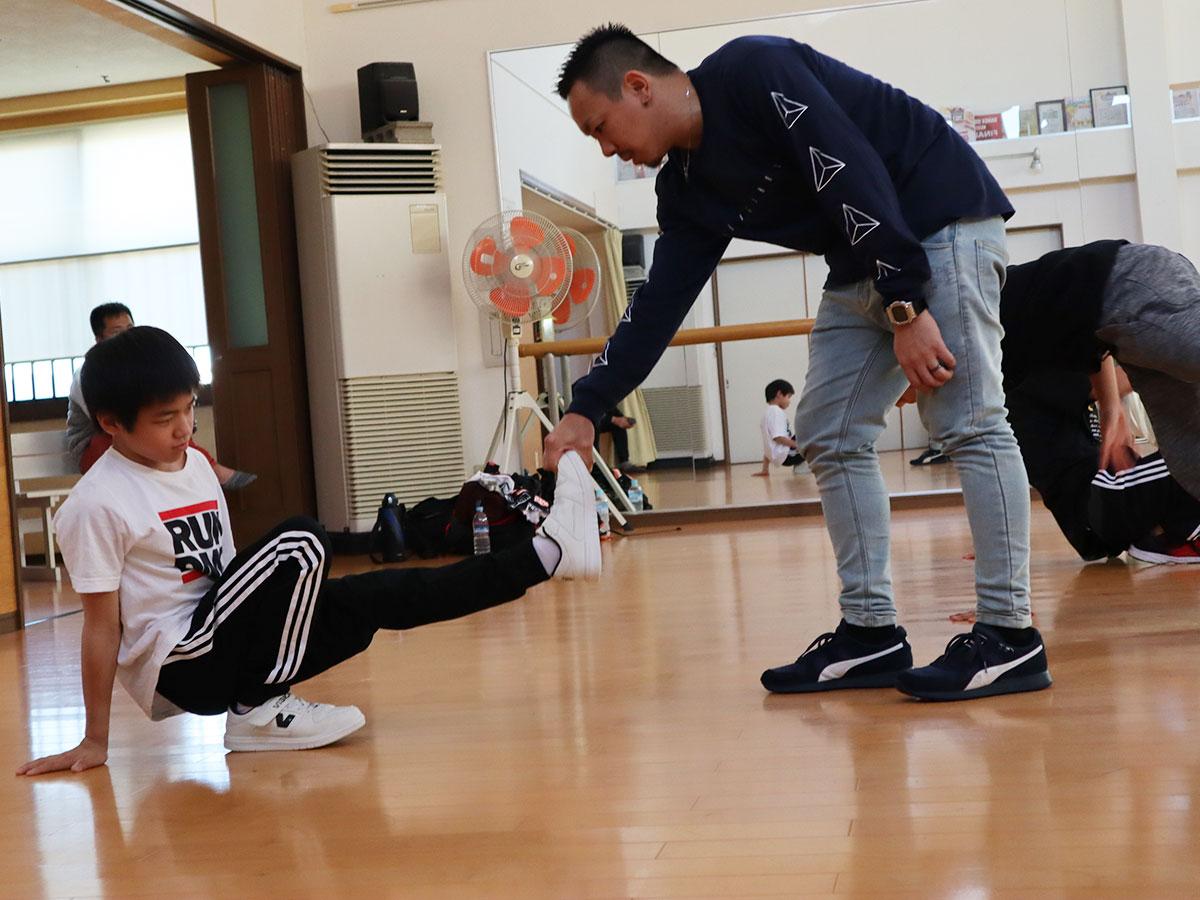 B BOY TAISUKE ワークショップ 5